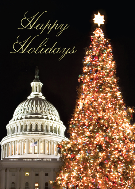 Christmas at the Capitol Regional Holiday Cards